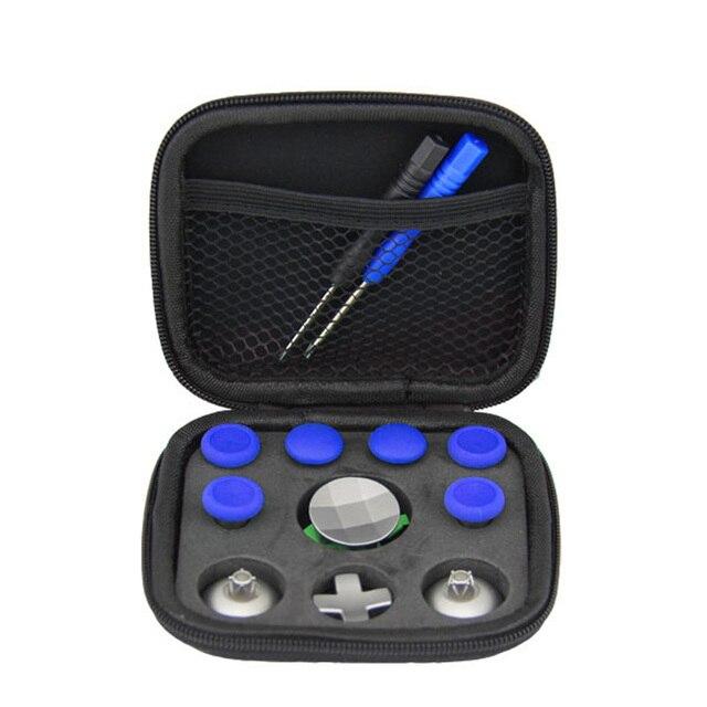 1 ensemble pour XBOX ONE Elite manette Gamepad déclencheur de pare-chocs pouce déchange bâtons analogiques poignées bâton d-pad bouton