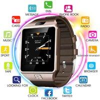 Original 3G WIFI QW09 Android Smart Watch 512MB/4GB Bluetooth 4.0 Real Pedometer SIM Card Call Anti lost Smartwatch PK DZ09 GT08