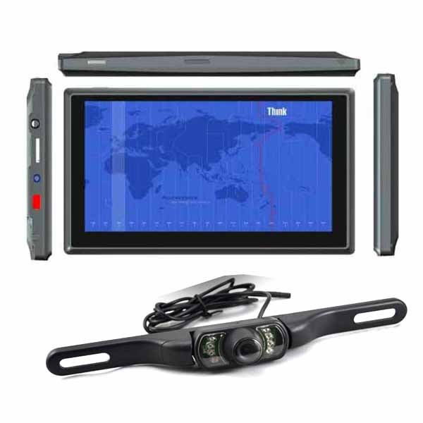 By DHL Or EMS 50 Pieces Car DVR 7 Inch Android 4.0 GPS Navigator Tablet MID Wireless Rear View Parking Camera And FM