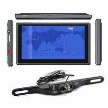 DHL или EMS 50 шт. Автомобильный видеорегистратор 7 дюймов Android 4,0 gps навигатор планшет MID беспроводная камера заднего вида и FM