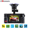 Gotomato Dual Camera Car DVR 180 Degree Rotatable Lens Night Vision Car Recorder F30 1280*720P Car Black Box Driving Recorder