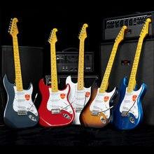 Введение для электрогитары сингл Rock ST электронные гитары Комплект Профессиональный начинающих пассивный закрытый пикап клен самшита