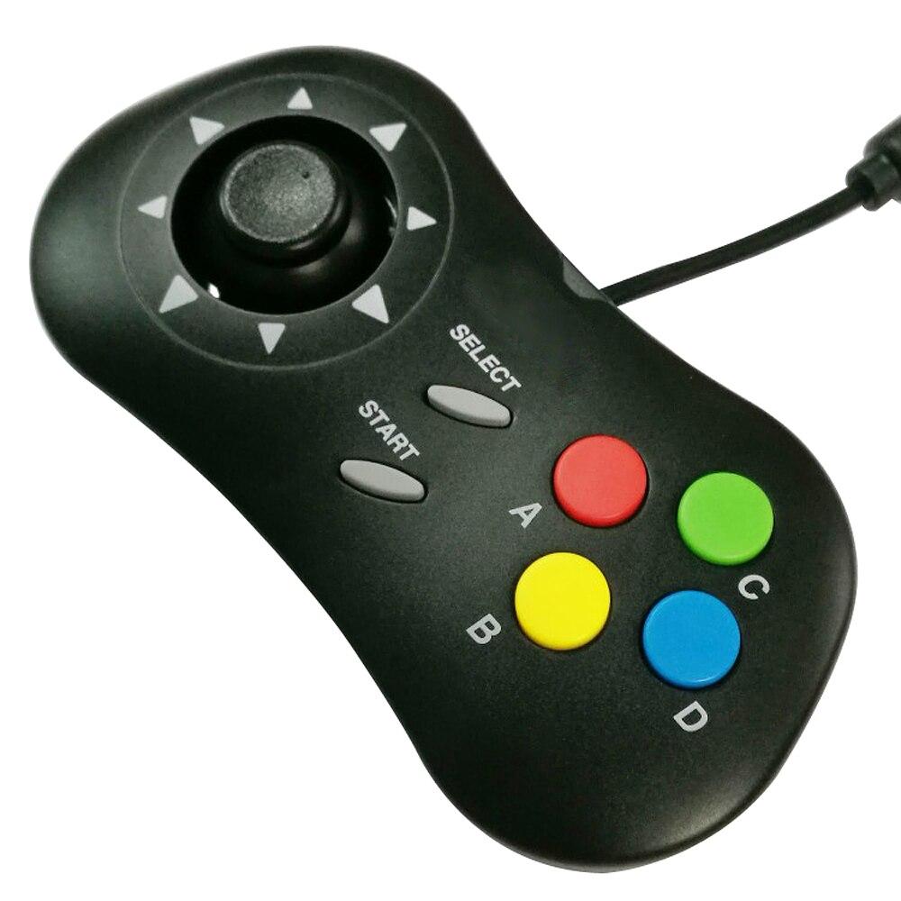 5 pièces en gros nouvelle arrivée rétro ARCADE Mini jeu vidéo pad contrôleur de jeu Console de jeu de poche pour N E O G E O pour S-N-K