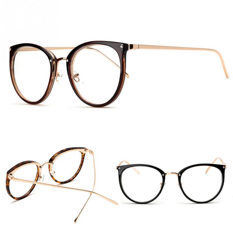2018 Heißer Verkauf Großhandel Frauen Männer Retro Brille Designer Rahmen Druck Rahmen Unisex Brillen Brille Rahmen Auswahlmaterialien