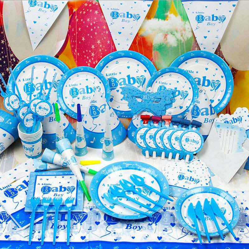 Baby Shower Time limited 07 09m Festa 2016 New 84pcs Baby Boy Kids