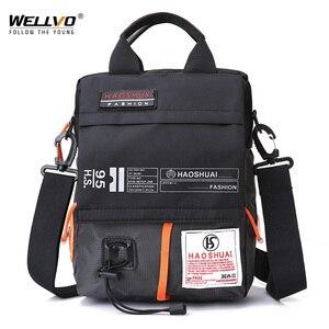 Men's Bag Messenger Bag Male W