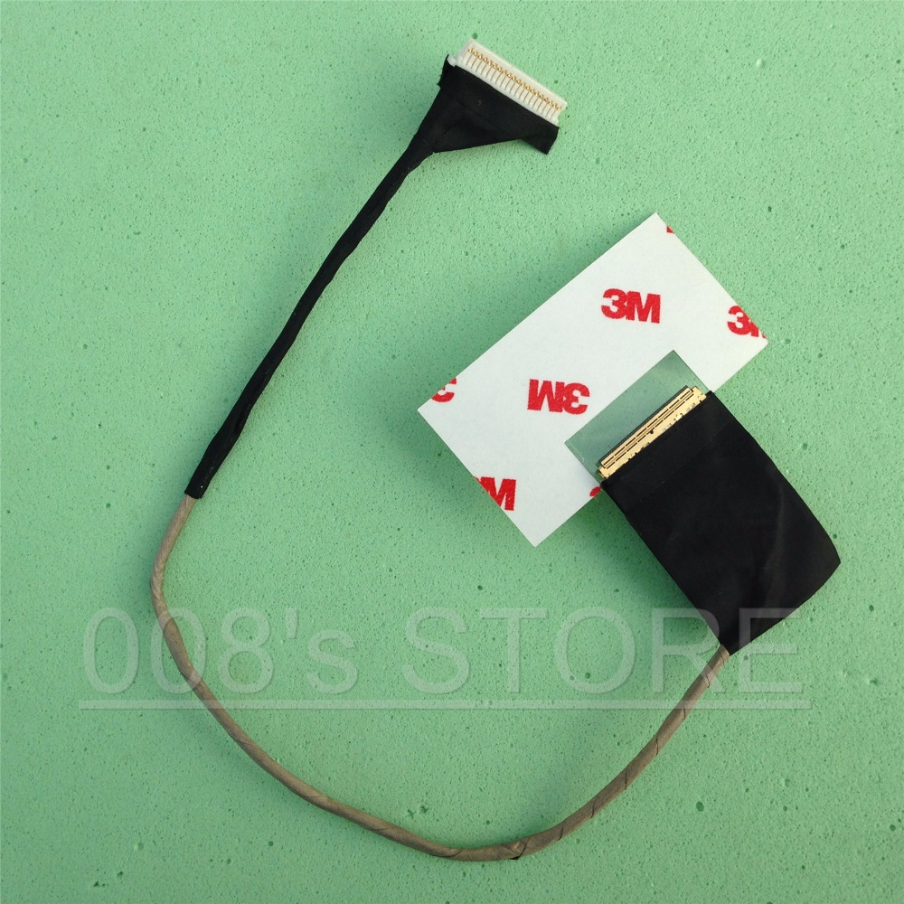 New Notebook LED LCD Screen LVDS KAV10 Cable For Acer Aspire One D250 D150 AOD150 VIDEO FLEX Ribbon Connector P/N DC020000H00