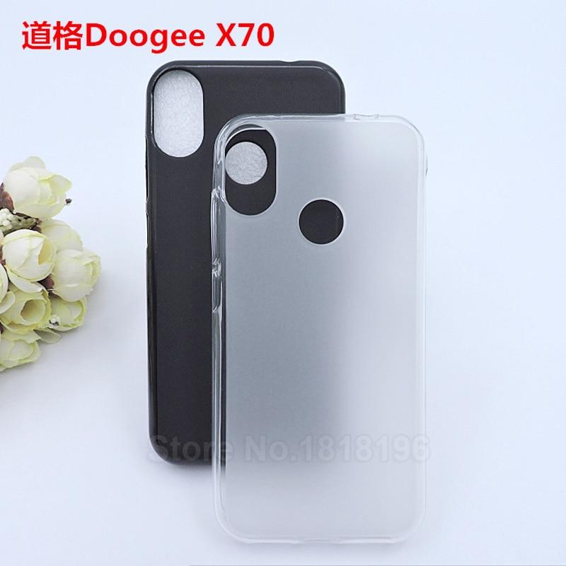 Handys & Telekommunikation 2 Farbe Doogee X70 Abdeckung Fall 5,5 weiche Tpu Silikon Zurück Fall Für Doogee X70 Smartphone Funda Shell Niedliche Fall