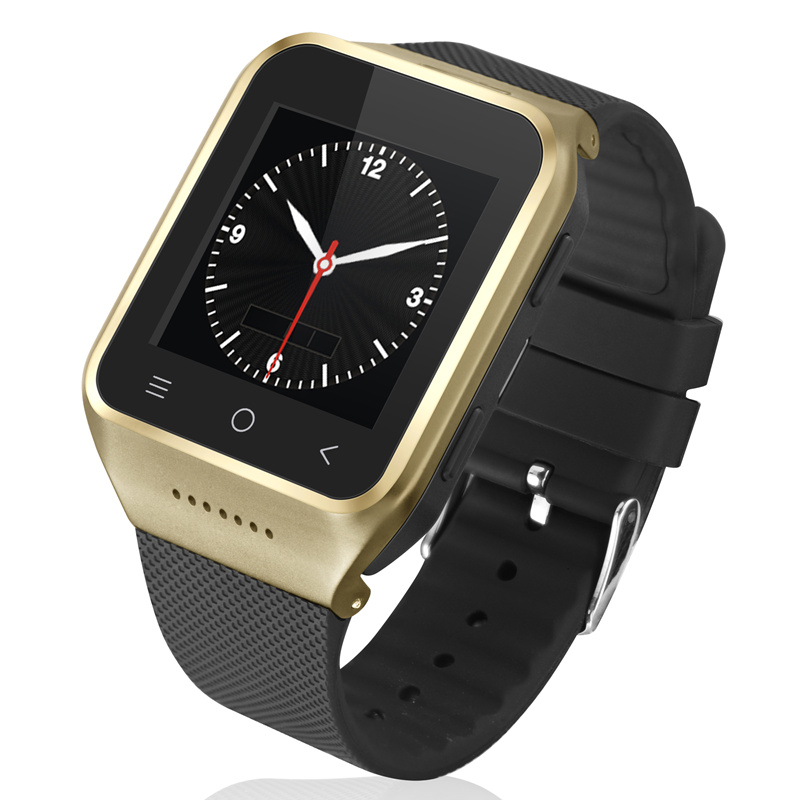 Android 4.4 Wifi GPS Smart Watch Phone Support SIM Card 3G WCDMA GSM Free install Android APPS Bluetooth 4.0 Wristwatch Camera