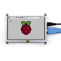 5 Inch HDMI LCD Display For BB BLACK Raspberries Pie 3 Generation Computer