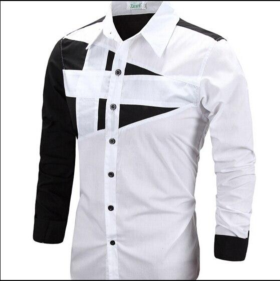 white shirt new pattern