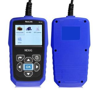 Image 5 - NEXAS NL102 сканер для тяжелых грузовиков OBDII / EOBD / HDOBD сканер для грузовиков и автомобилей диагностический инструмент для передачи тормозов двигателя