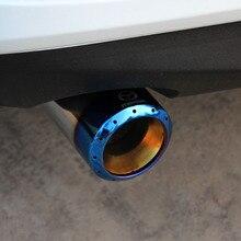 Automobile Exhaust Tip Tail Pipe Muffler for mazda 3 Atenza Mazda3 Axela CX-5 Mazda6
