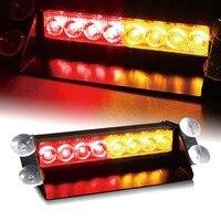 CIANO SOLO BAY 8 LEVOU 8LED Car Traço Strobe Flash Light Emergência Luz de Advertência Perigo Para a Segurança Da Unidade Vermelho/Amarelo