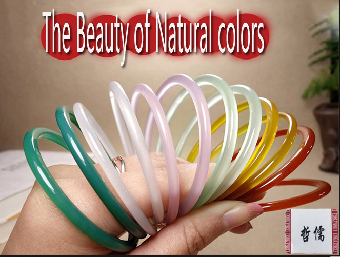 Jewelry & Accessories Bracelets & Bangles Natural Green Bracelets Colored Drawing Peacock And Flower Bracelets Bangles Gift For Women Yu Jewelry/