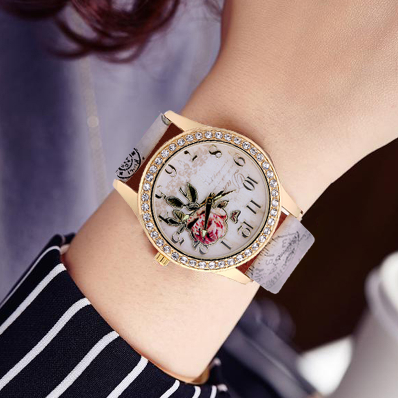 Fashion Eiffel Tower Quartz Vintage Leather Watch Women Students Retro Wrist Watches Ladies rhinestone Casual watch woman clock fuel diesel injector 0445 110 290 for bosch 0445110290 common rail injector common rail injection for diesel engine