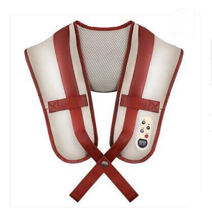 3d Knocking Kneading Cervical Shoulder Massage Belt Heating Vibrating Device Massager Gift Home Use Neck Electronic Vibration for nec k shoulder and neck massage cape cervical massage device neck