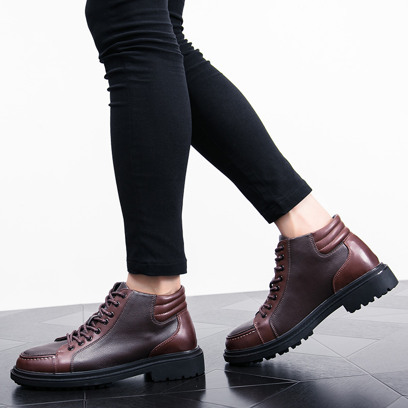 italian cool unique men motorcycle boots shoes luxury brand men's leather high top dress moccasins designer oxford shoes for men (14)