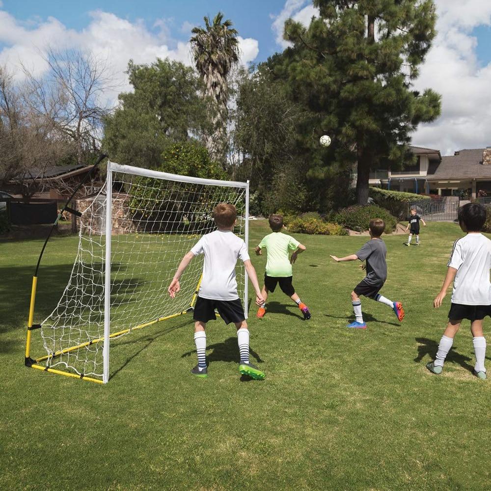 2019 Новая Складная портативная с футбольной целью футбольная тренировочная сетка для детей для взрослых Открытый тренировочный инструмент s m l Бесплатная DHL - 6