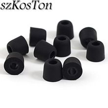2PCS/6PCS Earphone Silicone Tips T400 Memory Foam Tips Silicone Ear Tips Earphone Accessories Headphone Earbud Tips Ear Sleeve цена и фото