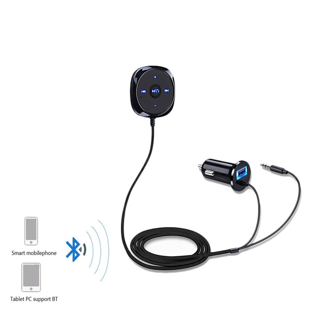 Eincar Bluetooth hands free car kit Player with 2 1A USB Car font b Charger b
