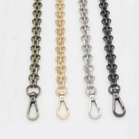 120cm DIY 60cm 140cm Gold Silver Gun Black Bronze 12mm Bag Metal Replacement Purse Chain Shoulder