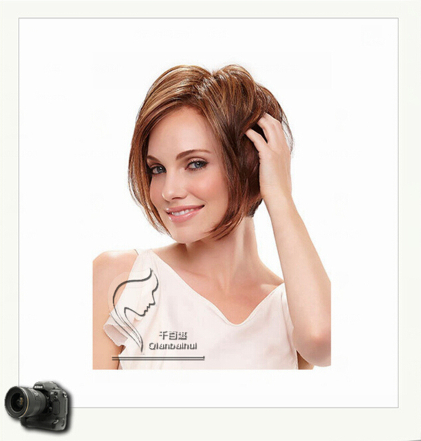Free Shipping Top Sale Peruca Sexy Straight Products Style - Anime bob hairstyle
