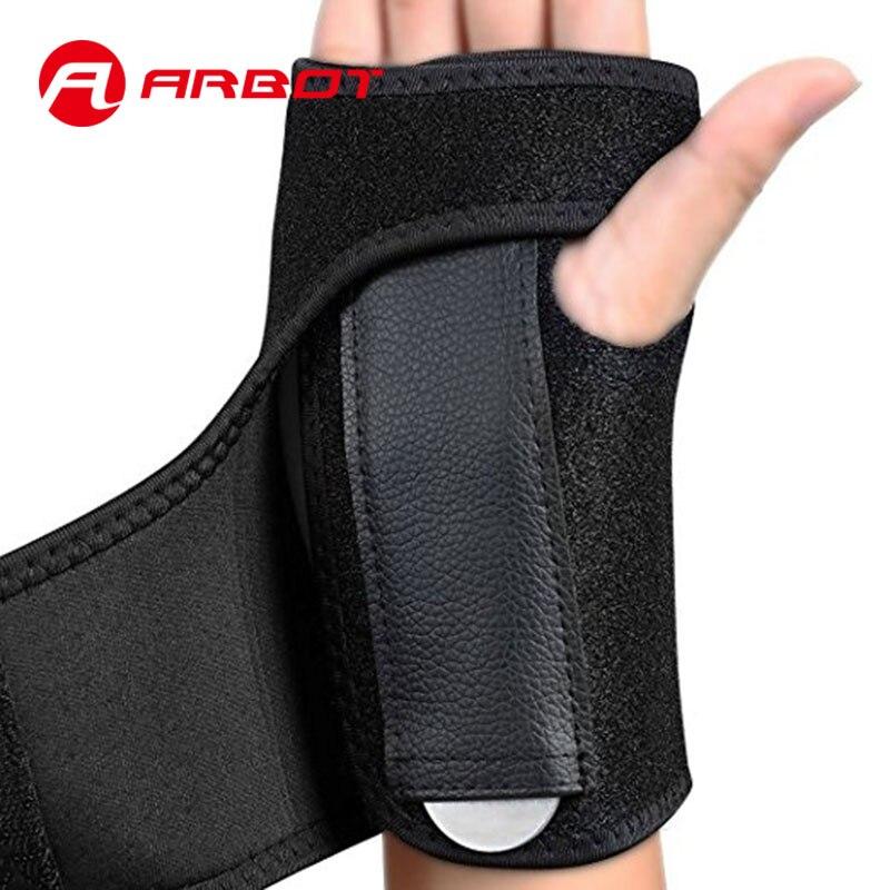 64bcc811739b € 6.11 49% de DESCUENTO|Arbot Sports Fitness Splint muñeca Wraps  entrenamiento levantamiento pulsera para hombre mujer muñeca lesiones ...