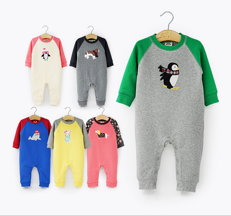 Autumn Baby Girl Clothes Newborn Boy Rompers Thick Cotton Long Sleeve Baby Costume Cute Animal Baby Clothing baby Jumpsuits cotton baby rompers set newborn clothes baby clothing boys girls cartoon jumpsuits long sleeve overalls coveralls autumn winter
