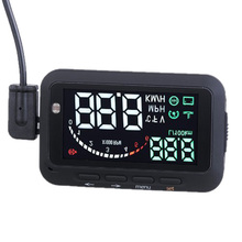 EDFY Universal Car HUD Vehicle mounted Head Up Display System OBD Overspeed Warning