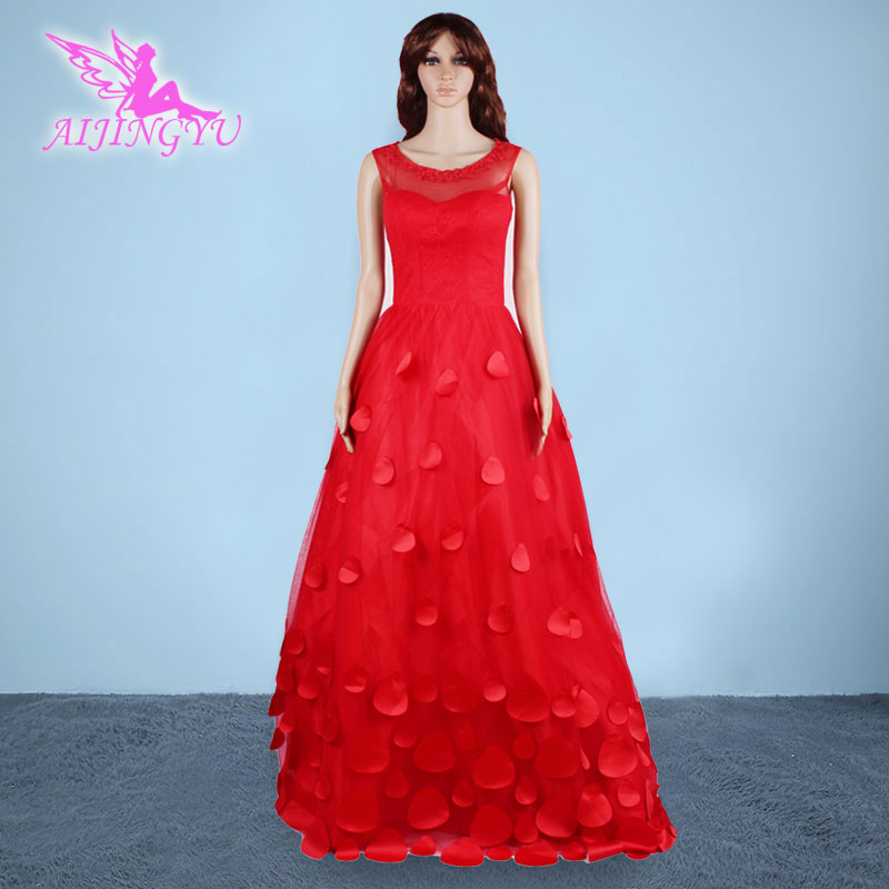 AIJINGYU 2018 new free shipping china bridal gowns cheap simple wedding dress sexy women girl wedding dresses gown AD300