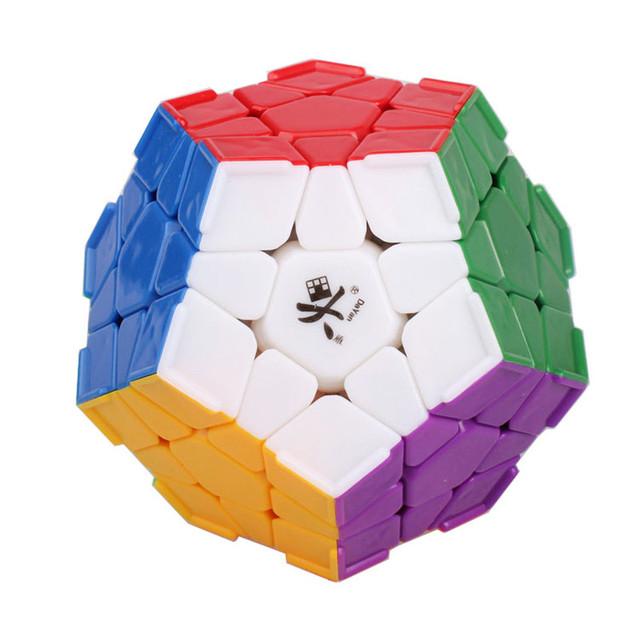 Marca Nueva DaYan Dodecahedron Cubo Mágico con La Esquina Rompecabezas Educativos Juguete Especial