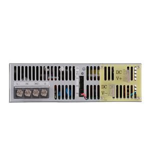 Image 2 - 3500 W 27 V fuente de alimentación 0 27 V potencia ajustable 72VDC AC DC 0 5 V señal analógica control SE 3500 27 transformador de potencia 27 V 129A