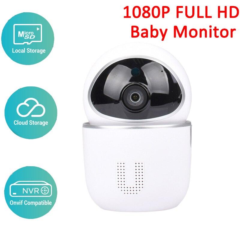1080 P bébé moniteur deux voies Audio détection de mouvement intelligent sécurité IP caméra sans fil bébé caméra Cloud stockage