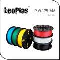 Em todo o mundo Expresso Rápido Dentro de 7 Dias Direto Fabricante Material de Impressora 3D 1 kg 2.2lb Cor Sólida 1.75mm PLA Filament