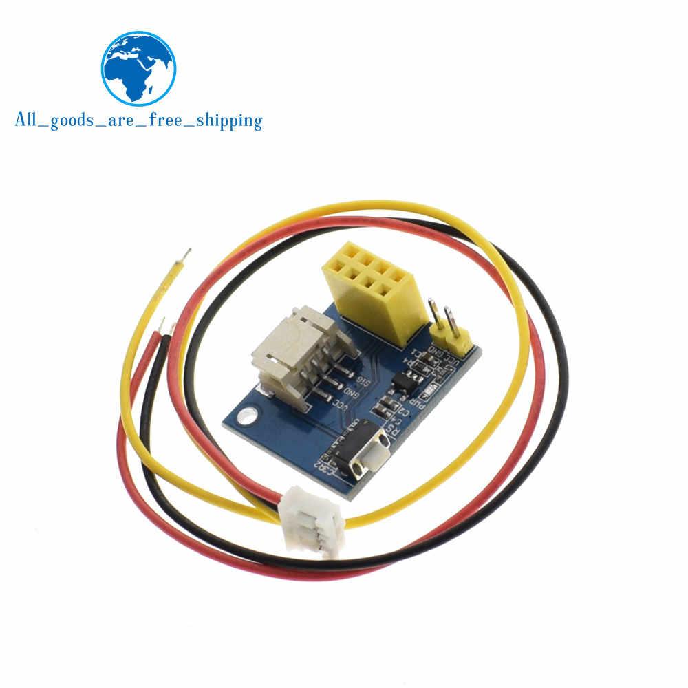 TZT ESP8266 ESP-01 ESP-01S RGB LED Controller Module for Arduino IDE WS2812  Light Ring Smart Electronic DIY
