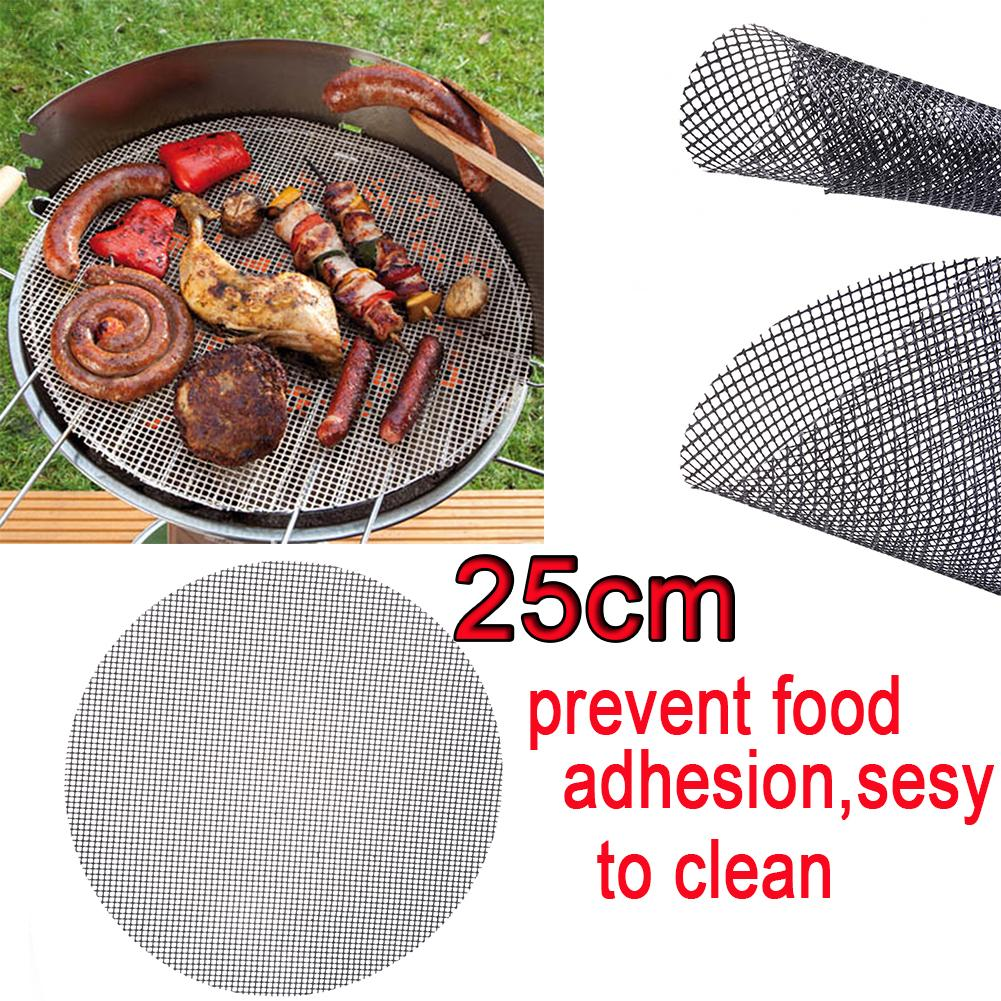 High Quality and Safety Round Grid Shape Grill Mat- Heat Resistance Non-Stick