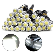 10pcs 12V 18MM LED Eagle Eye Light Car Daytime Running Lights