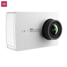 YI 4 К Действий Камеры Белый Международная Версия Ambarella A9SE75 IMX377 Датчик 12MP CMOS 2.19 «ЖК-Экран EIS WI-FI