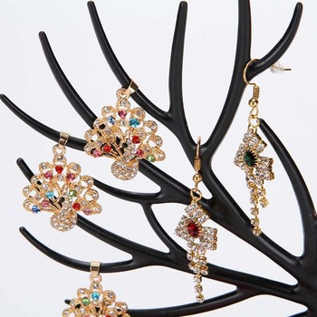 Mordoa Little Deer Jewelry Display Stand Tray Tree Storage Racks Organizer Holder 5