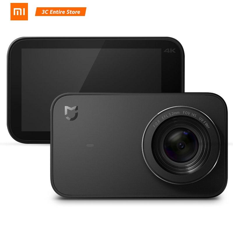 Xiaomi Mijia caméra d'action 4 K Ambarella A12 sport Mini caméra 145 degrés grand Angle 2.4