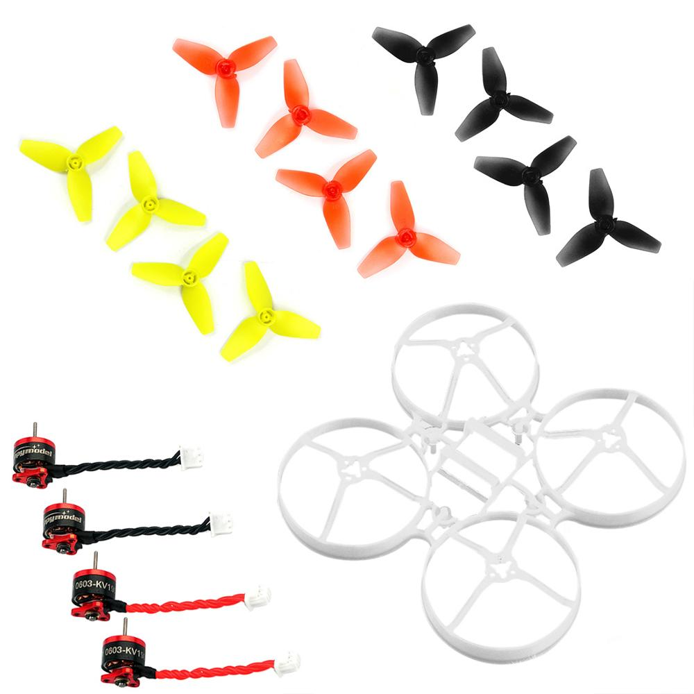 75mm Bwhoop75 Brushless FPV Frame with 3-Paddle Propelle SE0603 KV19000/16000 Motor for Indoor FPV RC Racing Drone Spare Parts75mm Bwhoop75 Brushless FPV Frame with 3-Paddle Propelle SE0603 KV19000/16000 Motor for Indoor FPV RC Racing Drone Spare Parts