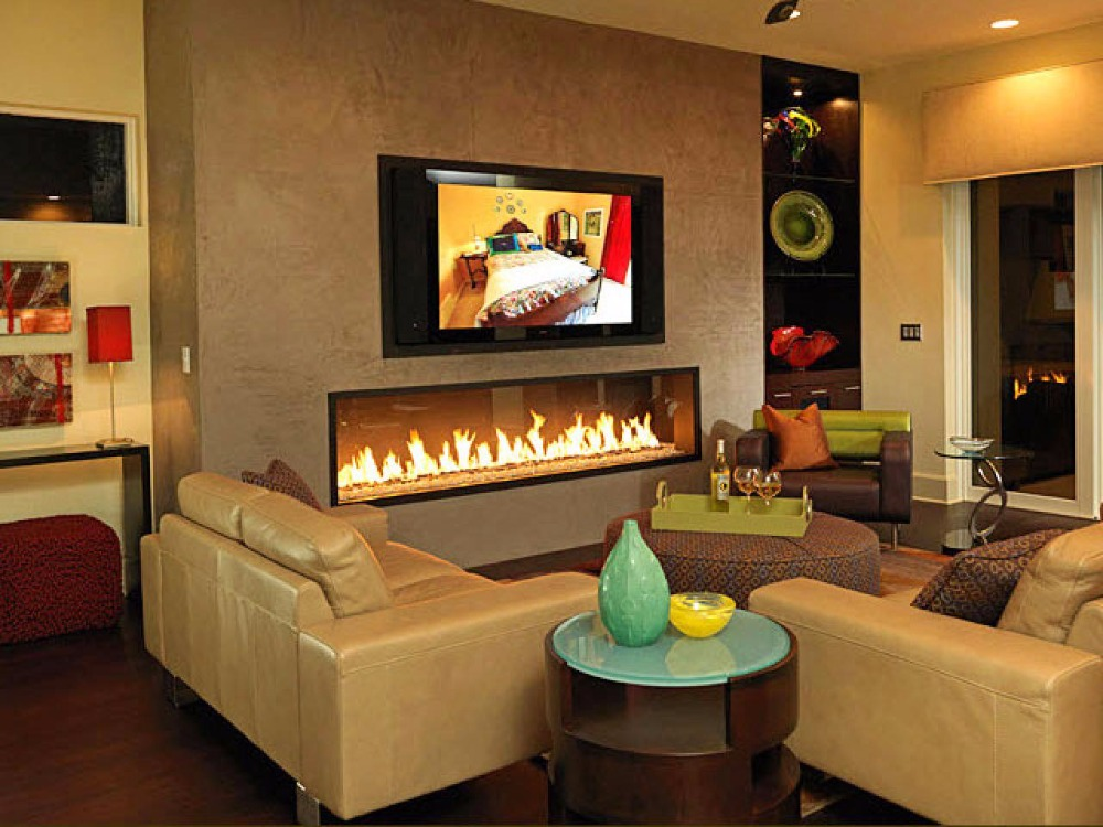 On Sale 48'' Indoor Fireplace Ethanol With Remote Control 12.5L