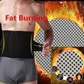 Belly Abdomen Fat Burner Belt Thermo Trimmer Winter Make Hot Waist Trainers Cincher Support Tummy Slimming Massage Body Shaper