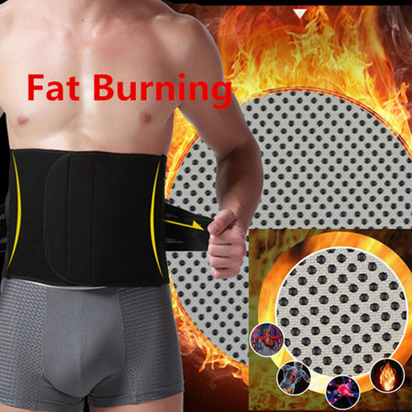 Belly Abdomen Fat Burner Belt Burning Trimmer Make Hot Waist Trainers Cincher...