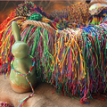 ABL0252 (100), grossa Brasileira Barato Colorful Rainbow Artesanal Tecer Corda Trançada Corda Vertente Pulseira Da Amizade