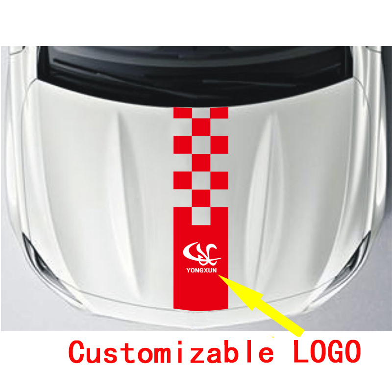 YONGXun Gloss Auto Car Head Car Sticker Racing Stripe Side Body Garland For Alfa Romeo Renault