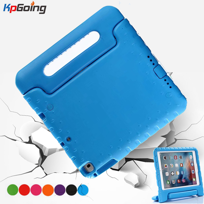 For Ipad 2018 Case Kids Eva 9.7 Inch Hand-held ShockProof EVA Cover Handle Stand for Ipad 6th Generation Case for IPad Air 1 2