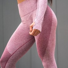 2018 Fashion Women Fitness Workout Legging Casual Blue Pink Gray High Waist Push Up