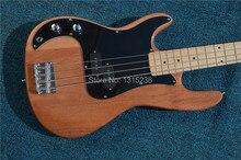 Freies Verschiffen Neue OEM e-gitarre guitarra meter bass gitarre shop holz farbe links guitarra/gitarre China